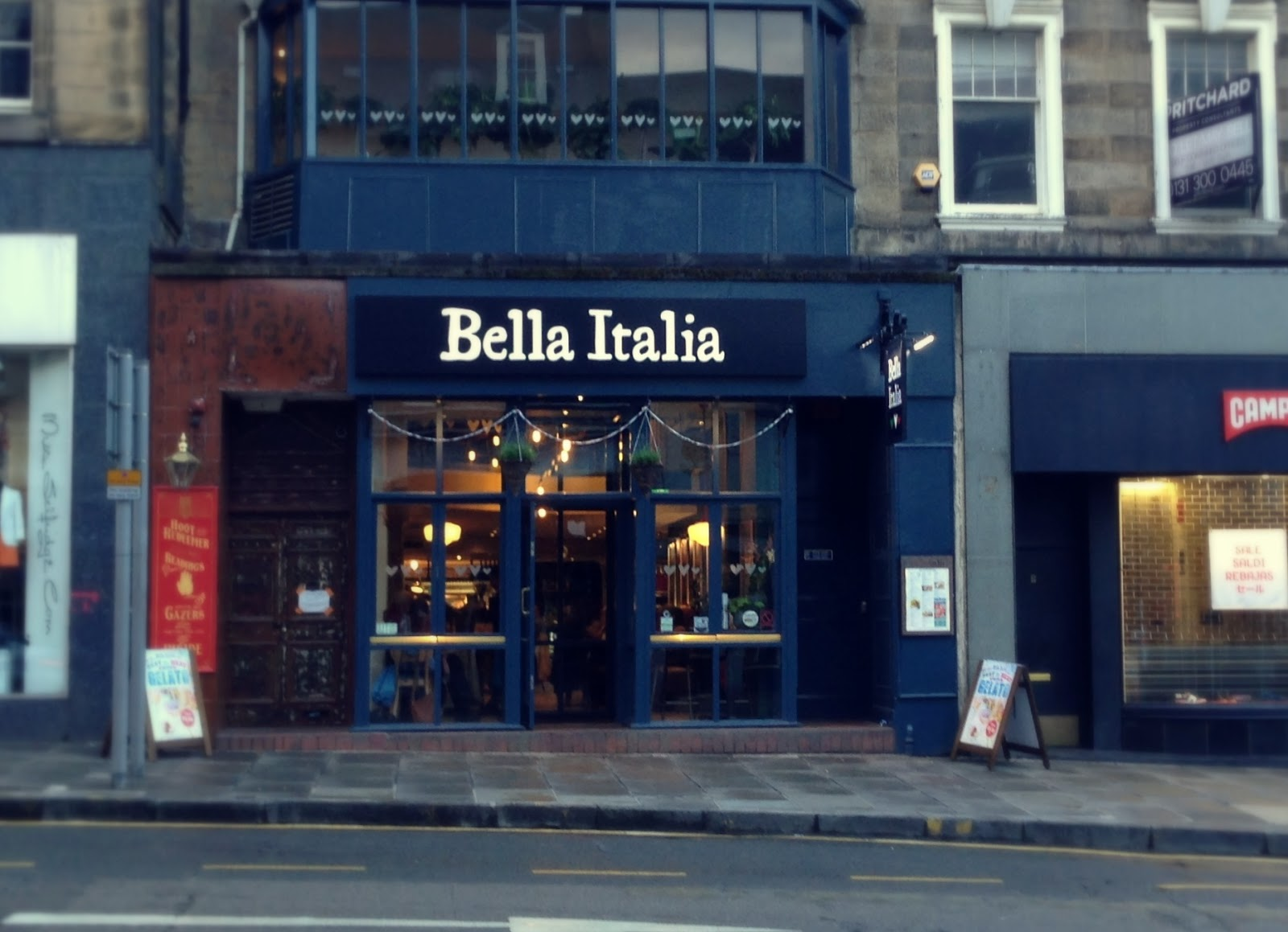 Bella Italia Edinburgh