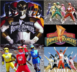 Thunder cats and Power Rangers