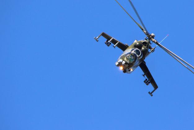 В Сирии разбился российский боевой вертолет