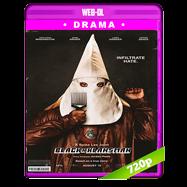 El infiltrado del KKKlan (2018) WEB-DL 720p Audio Dual Latino-Ingles