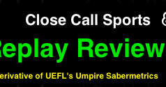 Close Call Sports & Umpire Ejection Fantasy League: MLB Umpire Replay  Review Statistics and Sabermetrics