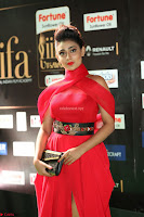 Apoorva in a Stunning Tight Leg Split Sleeveless Red Gown at IIFA Utsavam Awards 71.JPG