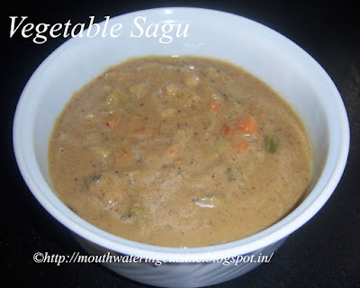 Vegetable Sagu