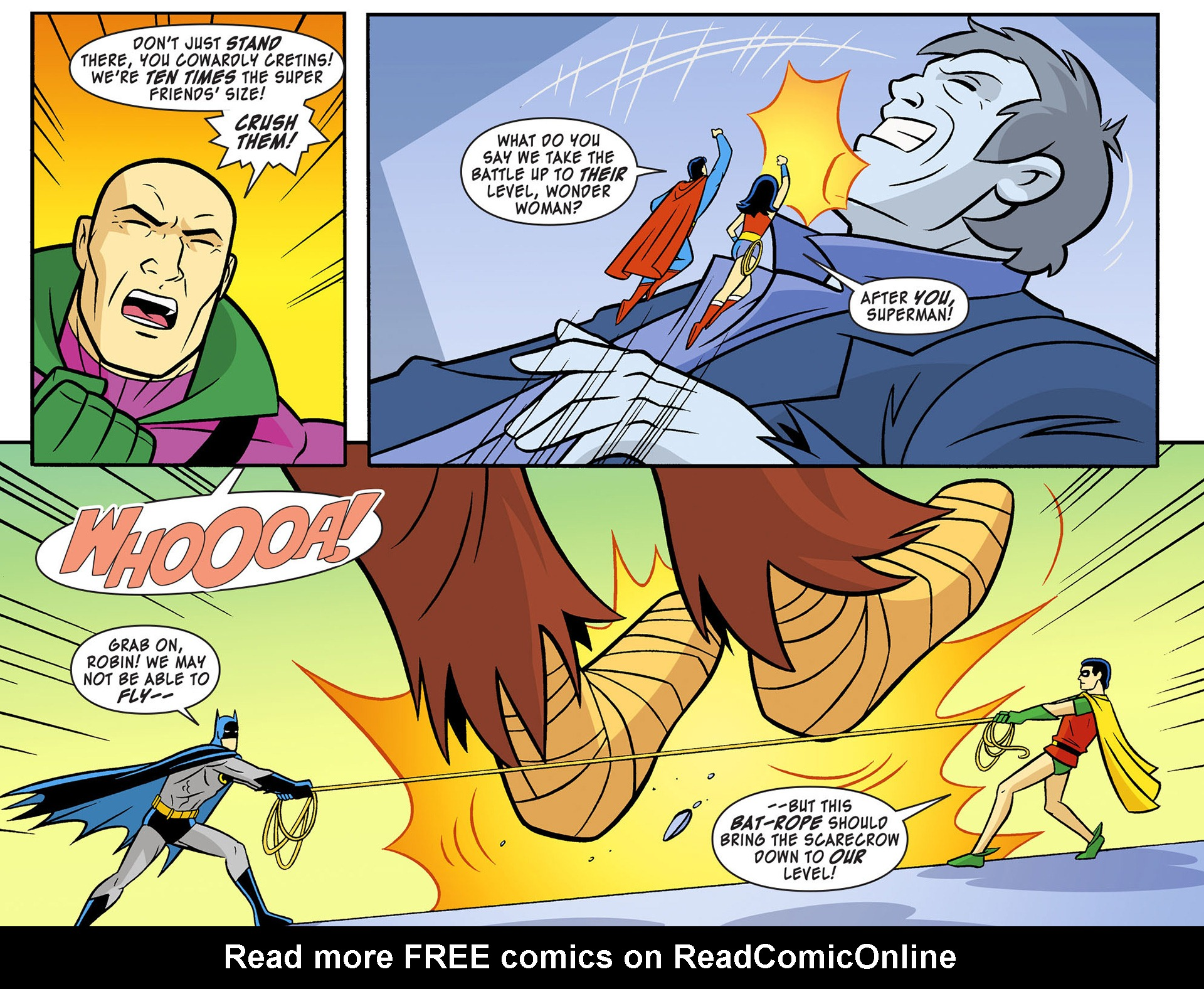 Read online Scooby-Doo! Team-Up comic -  Issue #12 - 14