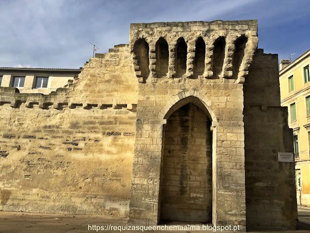 Muralhas da cidade de Avignon