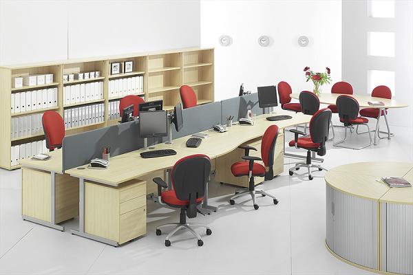 Thiết kế văn phòng làm việc cần chú ý đến việc tối ưu không gian
