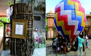 Lopis Dan Balon, Tradisi Unik Lebaran Warga Pekalongan