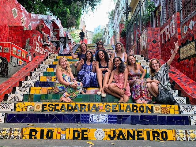 Tour no Rio de Janeiro - Escadaria Selarón