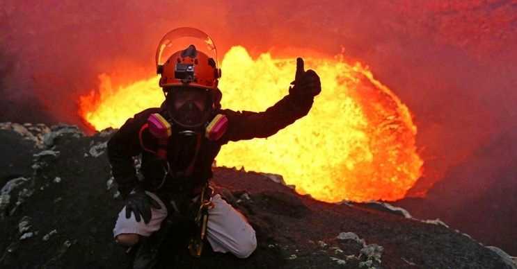 Thrihnukagigur, Eyjafjallajökull ile karıştırılan hareketsiz bir volkanik yanardağdır.