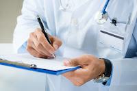 doctor ordering prostate screening photo