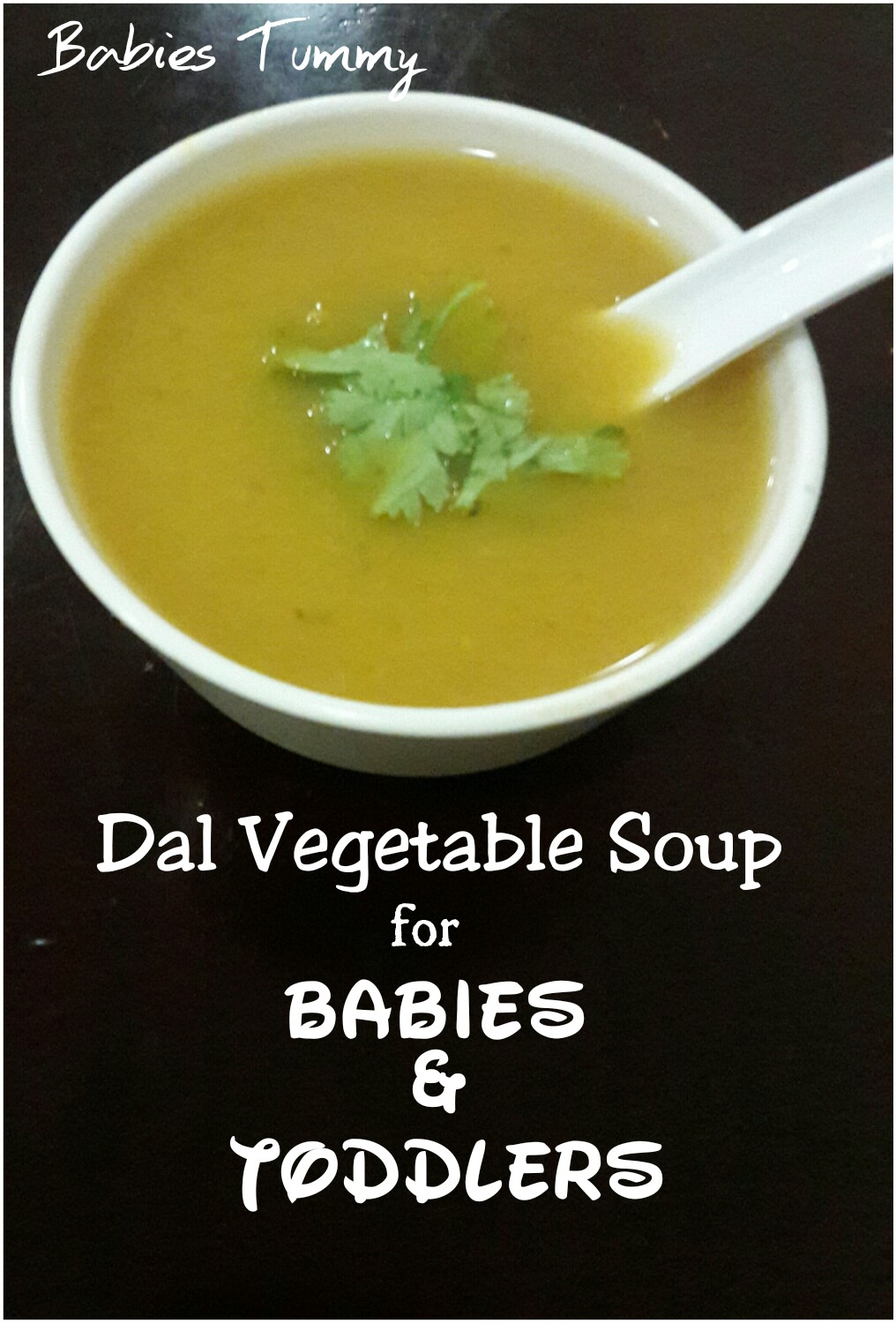 How to make vegetable soup for infants