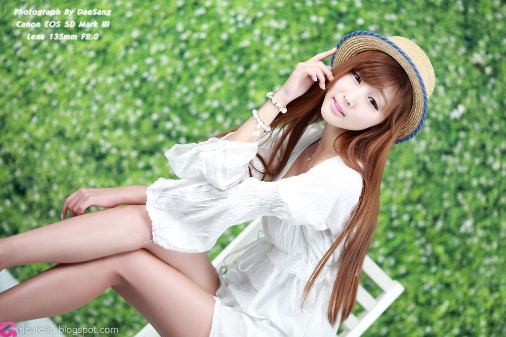 Lee Yoo Eun in White