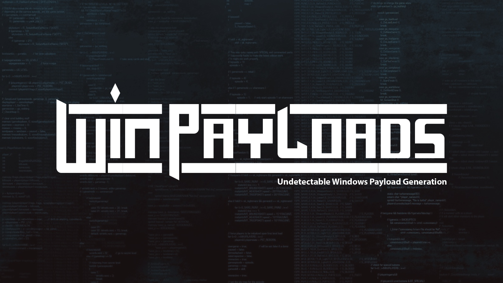WinPayloads - Undetectable Windows Payload Generation