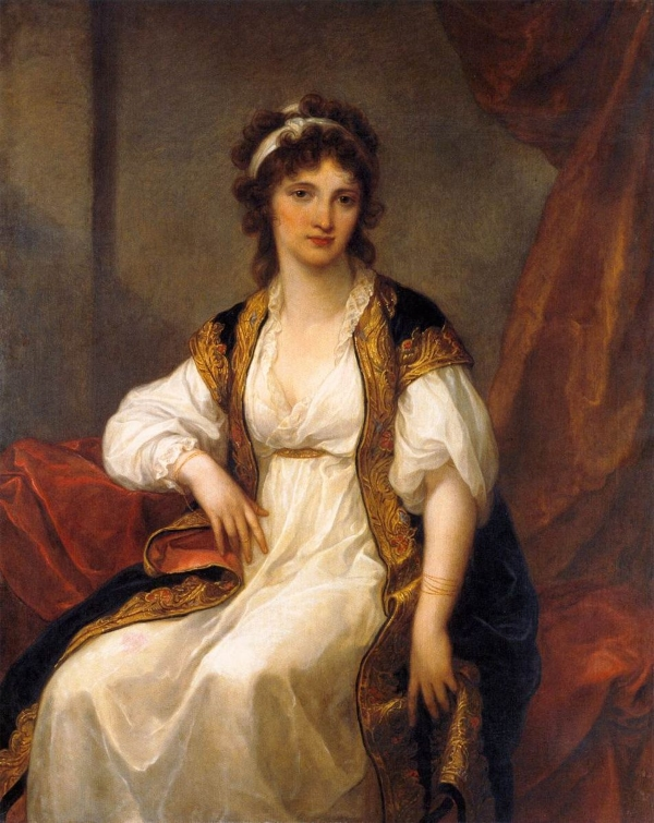 Angelika Kaufman Портрет молодой женщины