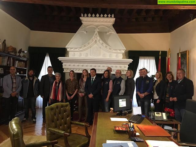 La Palma participa en Ávila en la reunión del proyecto europeo 'Night Light' sobre contaminación lumínica y astroturismo