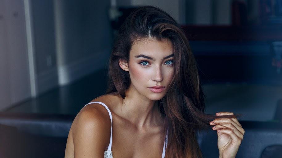 Lorena Rae, Beautiful, Brunette, Model, Women, 4K, #405