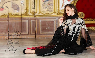 Latest-Charizma-Eid-Collection-2017-Swiss-Voile-Dresses-for-Women-1