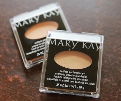 Cream to powder Foundation mary kay