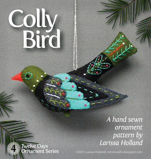 Colly bird pattern