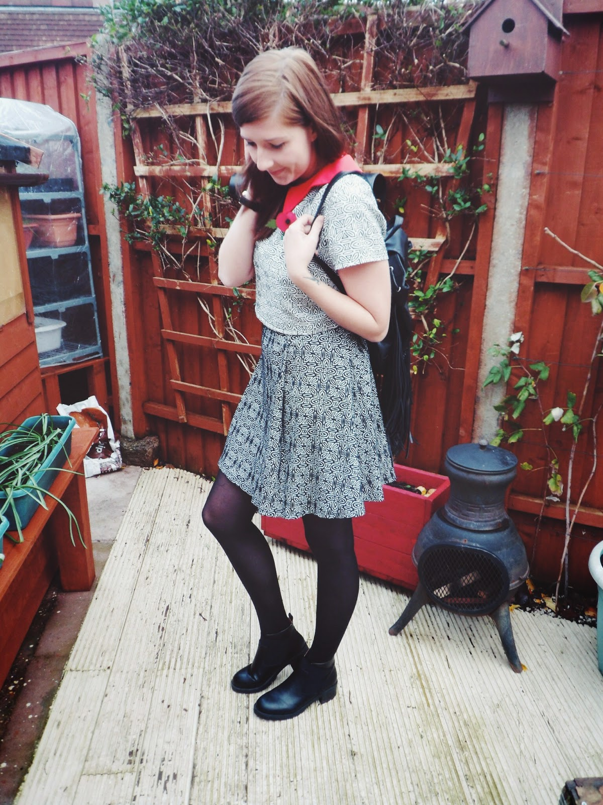 fbloggers, fblogger, fashion, fashionbloggers, wiw, ootd, outfitoftheday, lotd, lookoftheday, whatimwearing, whatibought, primark, asos, boots, peterpancollar, remembrancesunday, poppy, asseenonme
