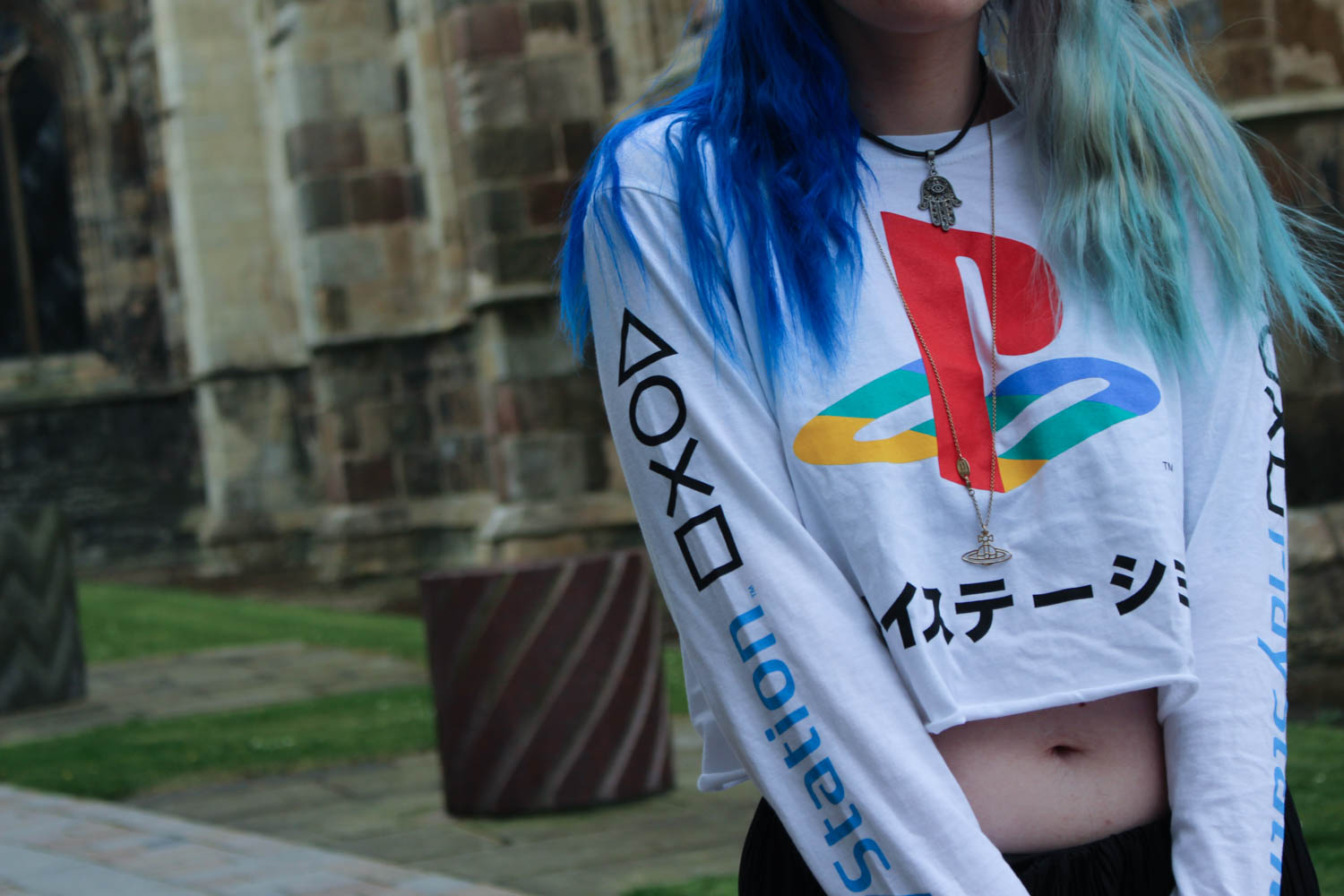 Urban Outfitters PlayStation Crop