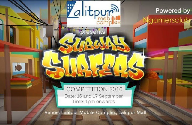 Gaming Competition in Lalitpur Mall