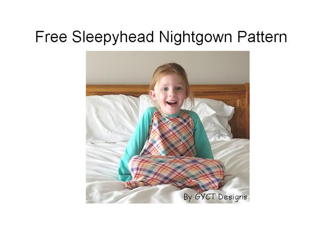 FREE Nightgown Pattern GYCT