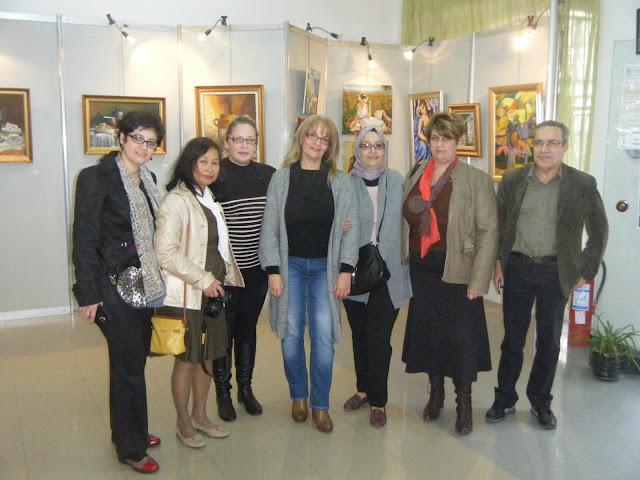 Exposition de peintures à La Galerie Aicha Haddad 1