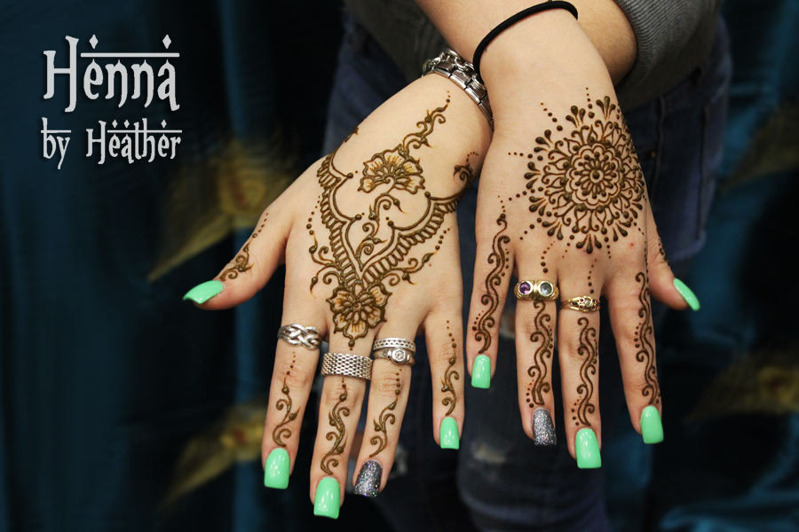 Nifty Arabic Mehndi Designs For Hands