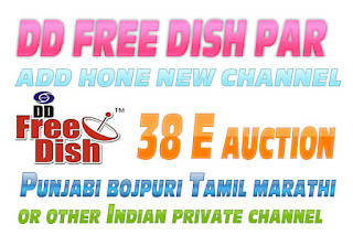 DD Free Dish  38 E Auction