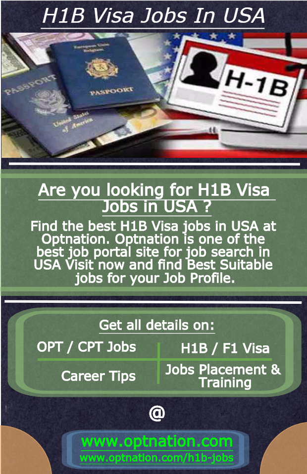 H1B Visa Jobs at Optnation
