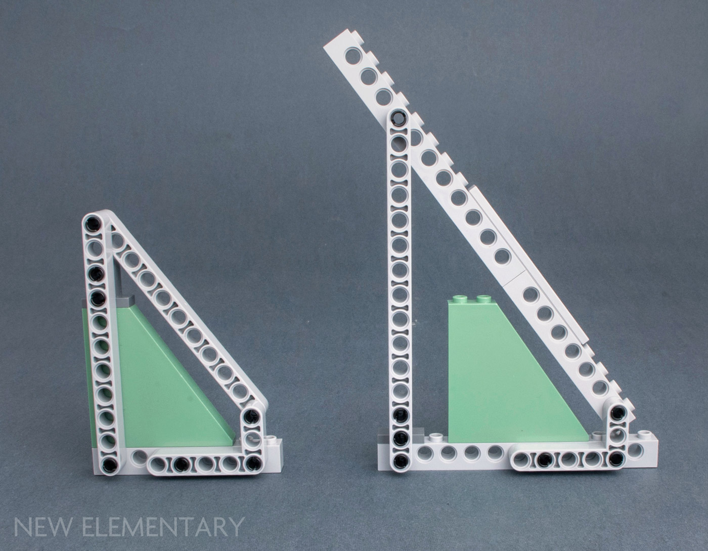 Lego Lot of 5 New Dark Tan Slopes Sloped 30 1 x 1 x 2//3  Pieces