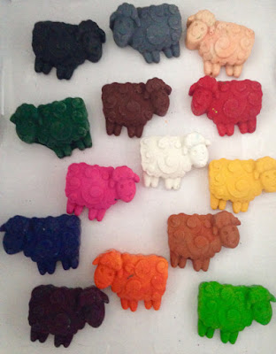 Sheep Crayons