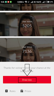 Draw prizes on oneplusstore.in