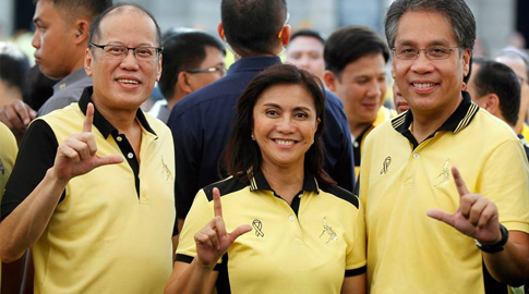"Robredo promises to continue and improve the ""Daang Matuwid"" governance."