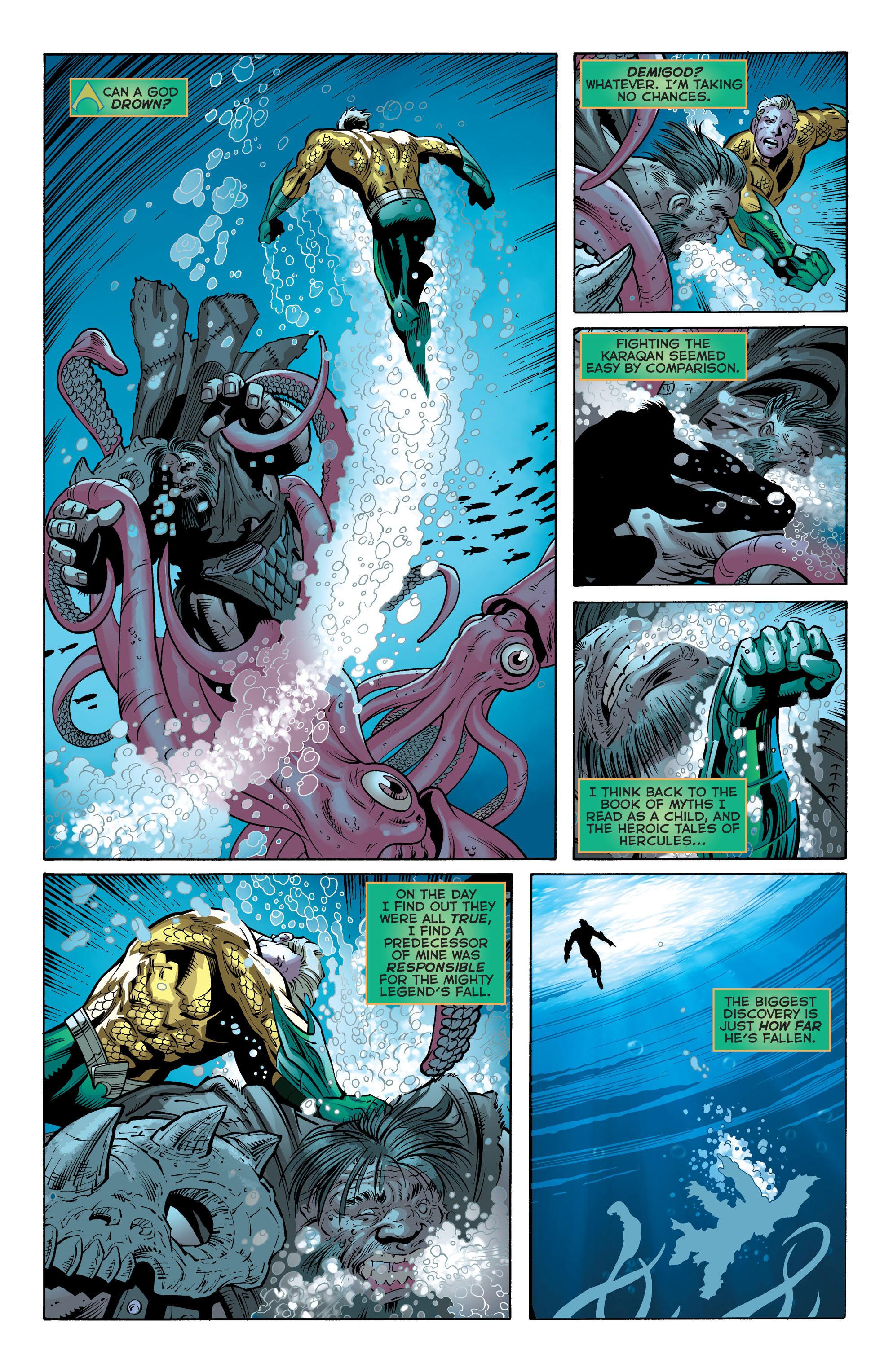 Read online Aquaman (2011) comic -  Issue #30 - 17