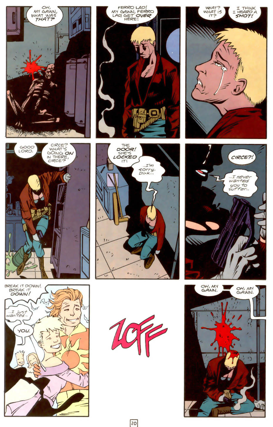 Legion of Super-Heroes (1989) 36 Page 20