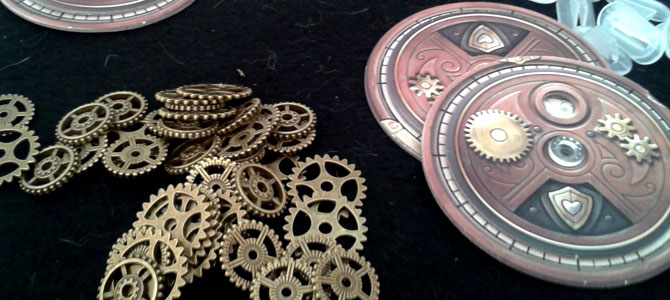 Unboxing Steampunk Rally coins