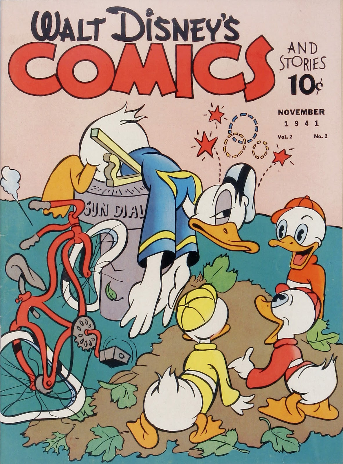 Walt Disney's Comics and Stories issue 14 - Page 1