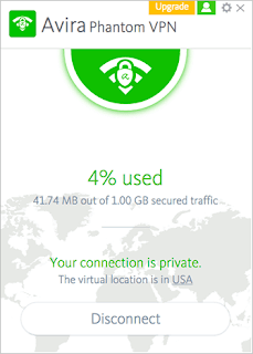 Avira Phantom VPN 2017
