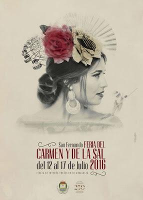 Feria del Carmen y de la Sal 2016 - San Fernando - Antonio Jiménez