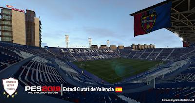 PES 2019 Stadium Estadi Ciutat de València by Arthur Torres