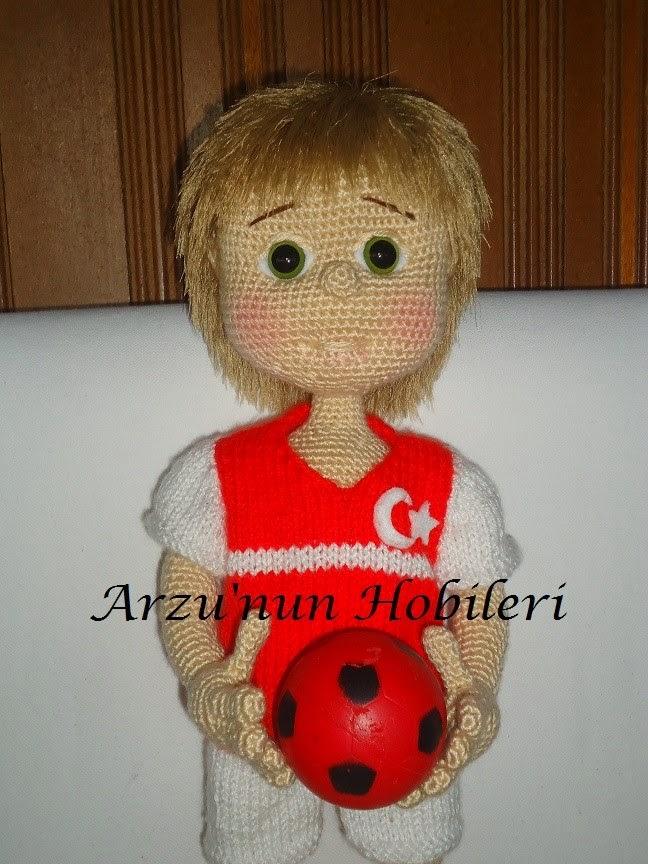 Amigurumi futbolcu   Resimler, Amigurumi, Futbolcular   864x648