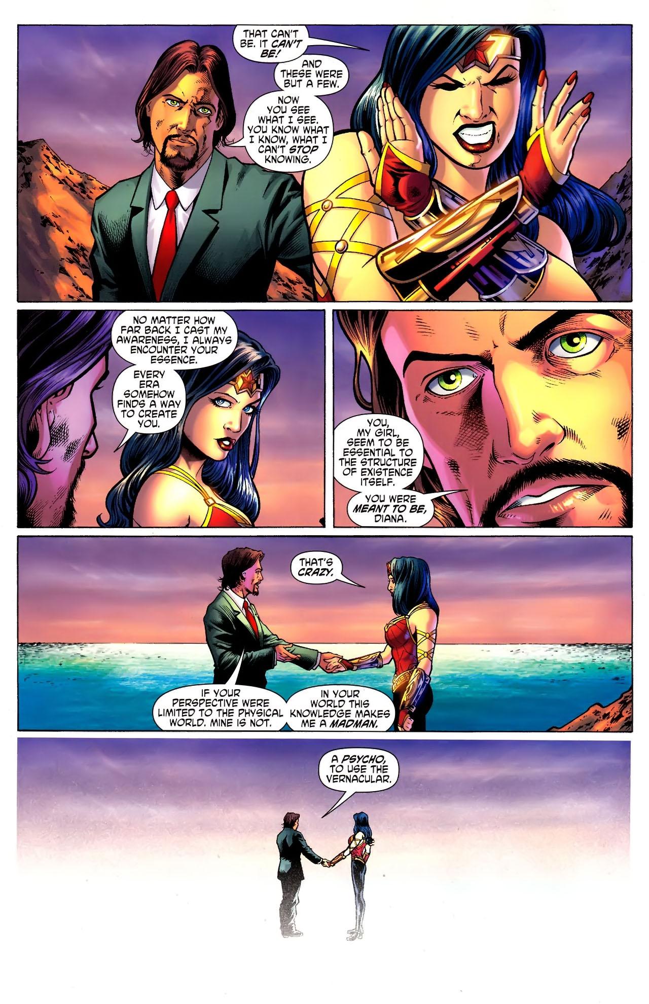 Read online Wonder Woman (2006) comic -  Issue #609 - 10