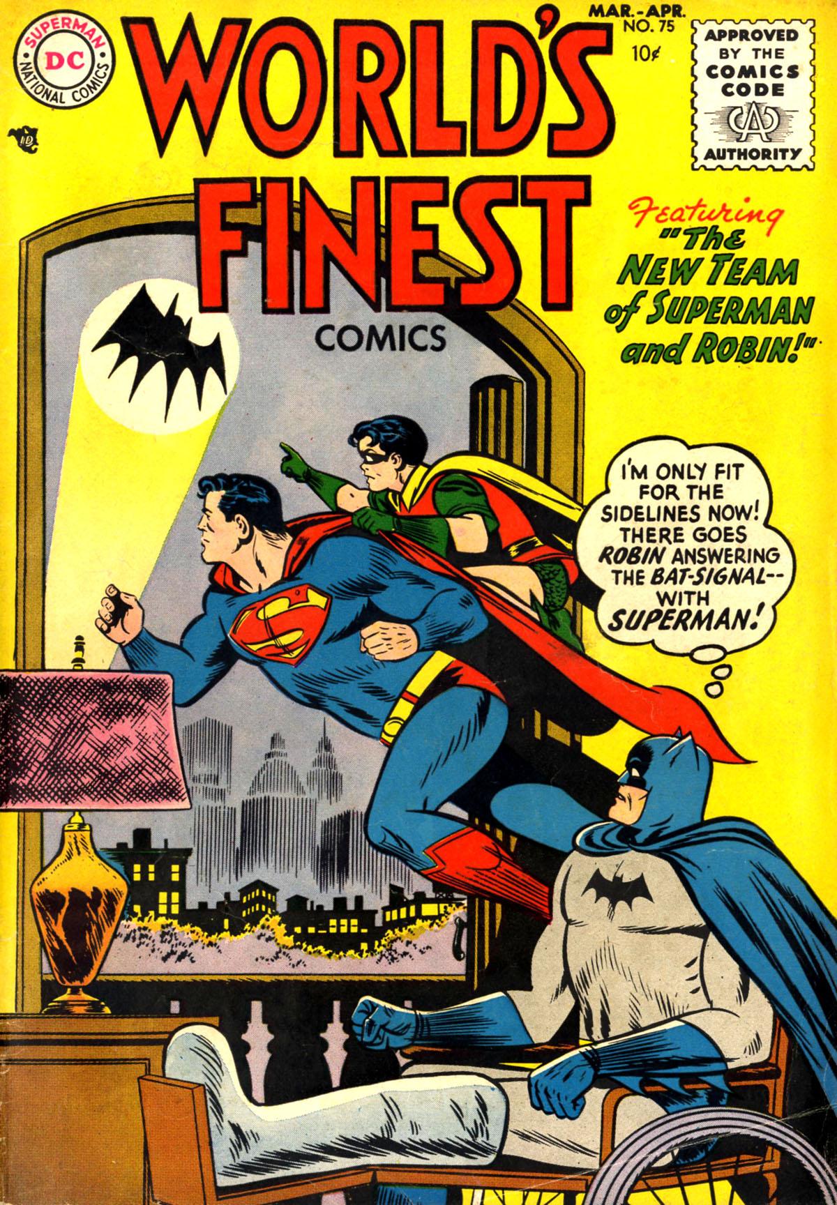 Read online World's Finest Comics comic -  Issue #75 - 1