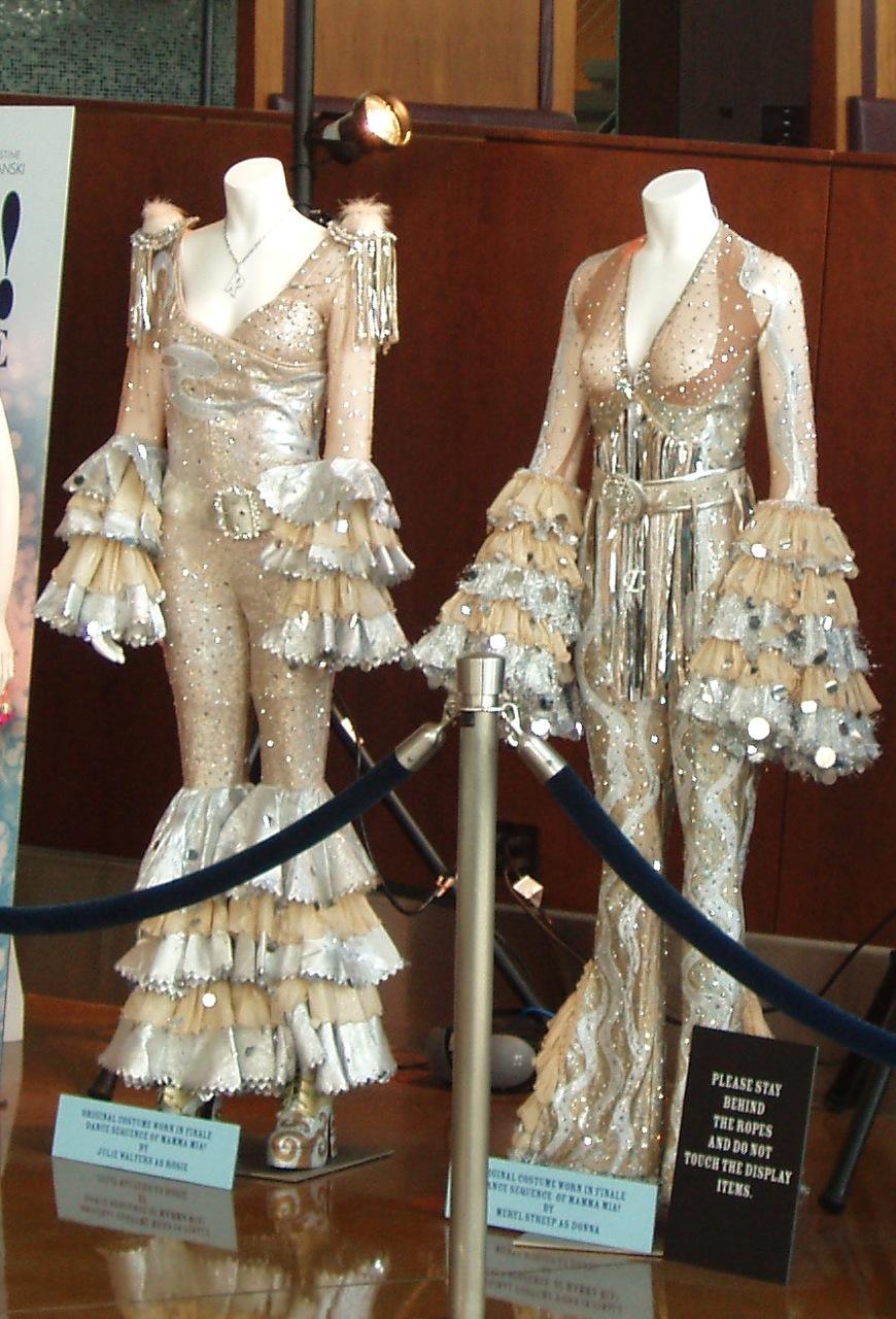 b0646ef2b117e Mamma Mia Movie Julie Walters Meryl Streep finale costumes ...