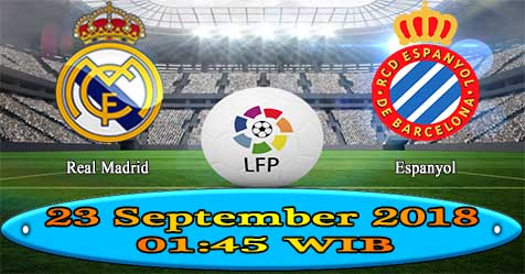 Prediksi Bola855 Real Madrid vs Espanyol 23 September 2018