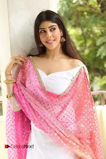 Actress Aditi Singh Pictures in Salwar Kameez at Guppedantha Prema Movie Press Meet  0147.JPG