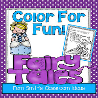 Fairy Tales Coloring Pages - 42 Pages of Fairy Tale Fun!