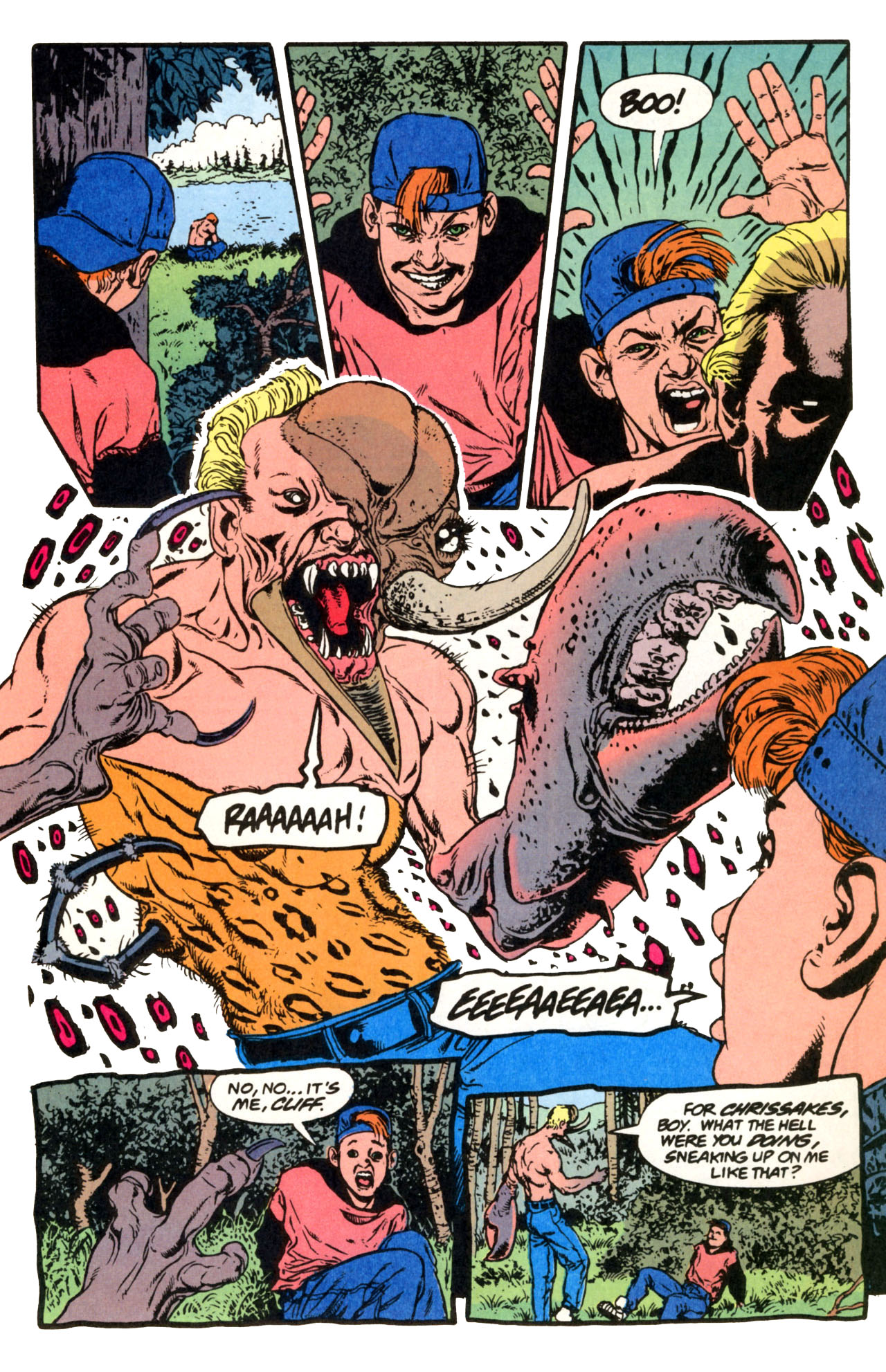 Read online Animal Man (1988) comic -  Issue #67 - 10